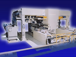WS39 Hanging Type Fully Automatic Slitter/Rewinder (won the 1997 Science and Technology Agency Notable Invention Award)